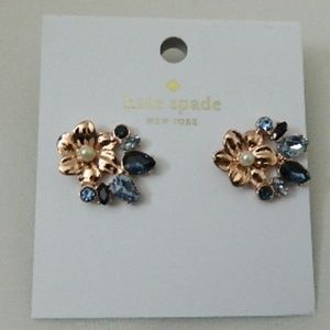 KATE SPADE Wild Garden Floral Stud Earrings